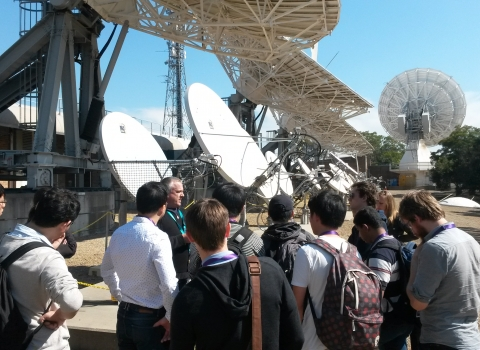 Optus Groundstation Tour
