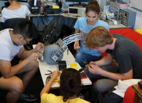BLUEsat Mars Rover Team