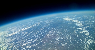 View from high Altitude Balloon