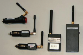 Assortment of GPS jammers